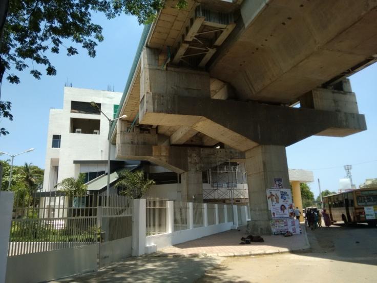 Ashok Nagar Chennai Metro station.